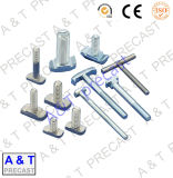 acier inoxydable d'a&T/pièces du boulon d'acier/goujon du carbone (M16)