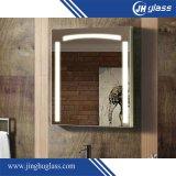 5mmの浴室のための銀製の長方形LEDによってつけられるミラー