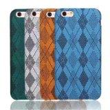 3개의 측은 직물 iPhone 7 케이스를 위한 엄밀한 이동 전화 상자를 감쌌다
