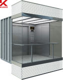 小さい機械部屋が付いている1350kg観光のエレベーター