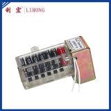 Compteur électromagnétique de 7 roues pour le compteur d'électricité, moteur pas à pas contre- (séries LHPD7)