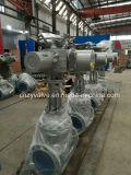 DIN/GOST Pn40 Dn250 IP65 Elektromotor-Steuerabsperrschieber