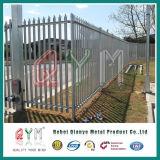 Cerca de acero galvanizada del metal de la seguridad del surtidor de China de la cerca de la palizada