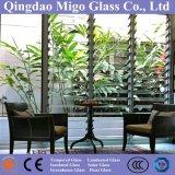 5m m 6m m claros/bronce/azul/verde/Nashiji/obscurecieron el vidrio de la lámina de la lumbrera