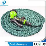 Pied hydrauliques de jardin de double pipe de latex 25/50/75/100 de boyau de l'eau avec le pulvérisateur