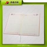 Het roze Zachte Notitieboekje van de Dekking van het Leer
