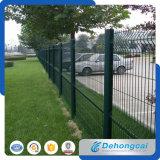 Rete fissa ornamentale rivestita della rete metallica del ferro saldato del PVC di alta quantità