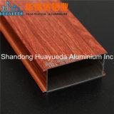 Perfil de aluminio de grano de madera / aluminio para ventanas y puertas