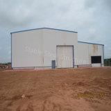 Taller prefabricado de la estructura de acero del palmo grande con el espacio grande