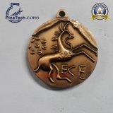고대 청동색 완료를 가진 주문 스포츠 메달 포상