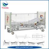 Hohe reizbares manuelles Krankenhaus-Bett der seitlichen Schienen-zwei für Kinder