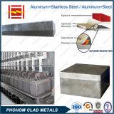 Barra 1100 de alumínio soldada inserção do guia do ânodo do revestimento SUS304 de Alu