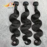 ボディ波8Aの加工されていないバージンのベトナムの毛のよこ糸