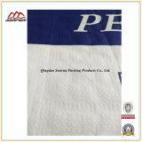 Saco tecido PP do plástico para a cera de empacotamento do PE