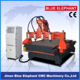 Spindeln Ele1325 4 CNC-Maschinen-hölzerne Ausschnitt-Maschinerie für das hölzerne Schnitzen
