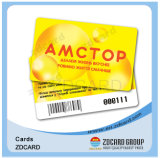 Plastique Smart Card estampé par VIP