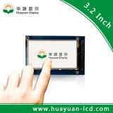 "Visualización de TFT LCD de la pantalla táctil del color del regulador Ili9327 3.2 """