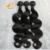ボディ波の加工されていないビルマのバージンの毛の拡張自然なカラー