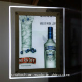 Em Desk Crystal Acrylic Advertising LED Light Box
