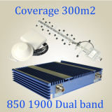 Band duplo 850/1900MHz CDMA PCS Signal Booster G/M Repater