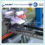 제지 공장에 있는 수축 포장 기계