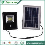 10W 20W 30W imperméabilisent la lumière solaire de jardin d'inondation de détecteur de mouvement