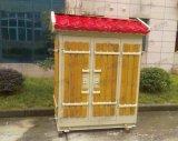 Подгонянные польностью оборудованные укрытие и шкаф телекоммуникаций