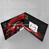 Brochure 2.4inch visuelle fabriquée à la main blanc pour la promotion