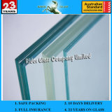 6.38-43.2mm AS / NZS2208: 1996 Verre anti-balles anti-balles