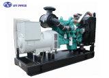 Huishouden de Generator van de 10 - 30 kVADieselmotor met 4 Slag, Gekoeld Water