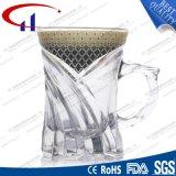 130ml Copo de vidro claro para café em branco (CHM8153)