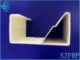 Perfiles especiales especiales especiales de la extrusión por estirado de la fibra de vidrio del perfil de la dimensión de una variable del perfil GRP de la dimensión de una variable del perfil FRP de la dimensión de una variable de la fibra de vidrio para la decoración en sector de la construcción