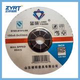 T27 disco di molatura rosso della mola 125X6X22 per di acciaio inossidabile