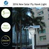 Lámpara de calle solar integrada de la batería del Litio-Ion de la alta capacidad de IP65 60W