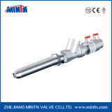 Válvula de alimentación neumática inoxidable del acero G3-C