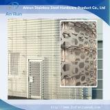 Comitato decorativo tagliato laser perforato di alluminio del metallo con la prova di Leed