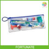 Sac zip-lock en plastique d'impression claire respectueuse de l'environnement avec le PVC d'EVA