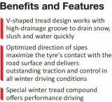 Goodride Westlake 175 / 65r14 13-19 polegadas Sw608 Car Winter Tire