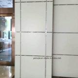 La facciata di alluminio riveste la facciata di pannelli di alluminio della parete del favo
