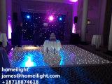 결혼식 단계를 위한 까만 백색 혼합 색깔 LED 별빛 지면