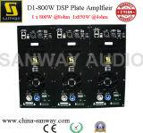 D1-800d 800W Einfachkanal Kategorie-d Subwoofer Lautsprecher-Platten-Verstärker mit DSP; Aufgebaut in der Verstärker-Baugruppe für Subwoofer Schrank-Kasten