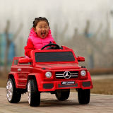 원격 제어 아이 전기 음악 차를 가진 아기 전차
