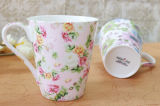 Milk、Coffee Porcelain Cupのための製造業Breakfast Cup Ceramic Cup
