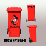 Pattumiera di gomma di plastica della rotella dello scomparto di rifiuti per esterno