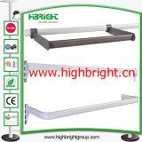 鋼鉄管の金属棚のためのハング棒棒鋼のホールダー