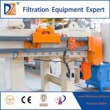 Filtre-presse de chambre pour le traitement des eaux résiduaires (certificat de la CE)