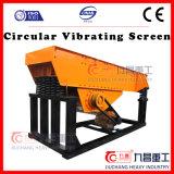 China-vibrierender Kreisbildschirm für Sand-Screening mit ISO