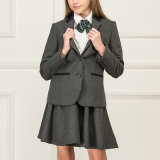 Veste de style scolaire Vente en gros Top Design Jeune Vestes d'hiver