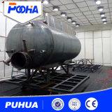 Cabine de grenaillage à écrouissage de Puhua pour de grandes pièces nettoyant le dispositif fulminant de /Sand