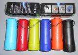Hinunter Zelt-oder Tisch-Gebrauch-preiswerte Förderung-Farben-Karosserie 2 in 1 kampierendem Minilicht mit Taschenlampen-Funktion oben knallen